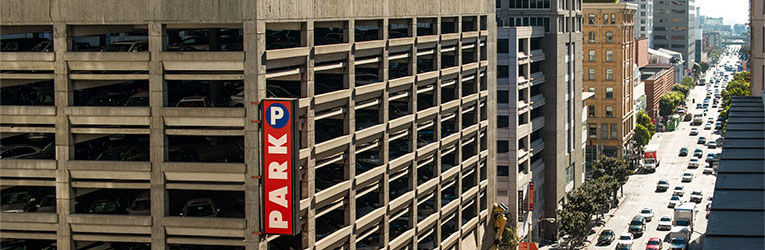 Hearst Parking Center in San Francisco